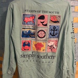 Simply Southern Tops - Simply southern long sleeve